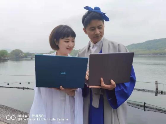 许仙、白娘子与华为故事即将展开,敬请期待